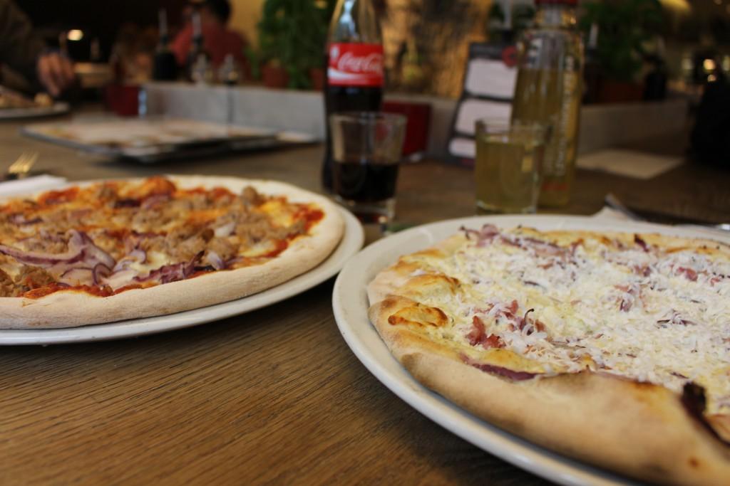 Vapiano Pizza Tonno Rusticale Thunfischpizza