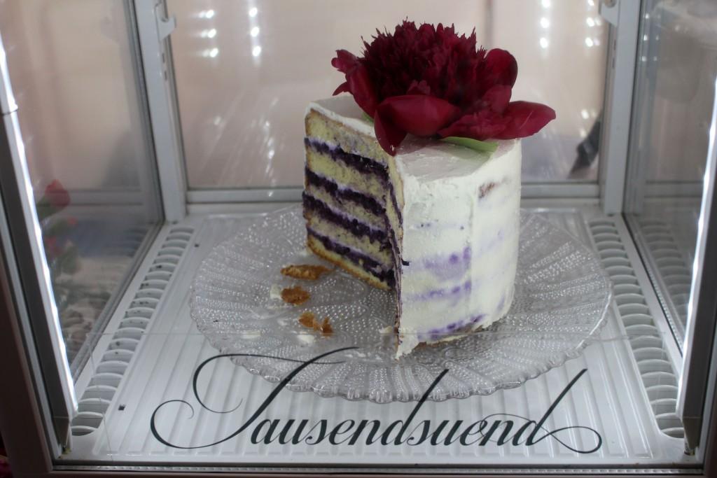Tausendsuend, Torte, Blueberry Ricotta