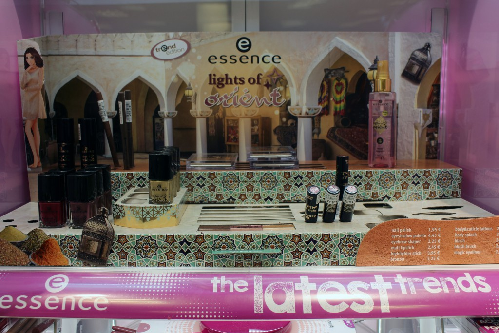essence, limited edition, lights of orient, Aufsteller