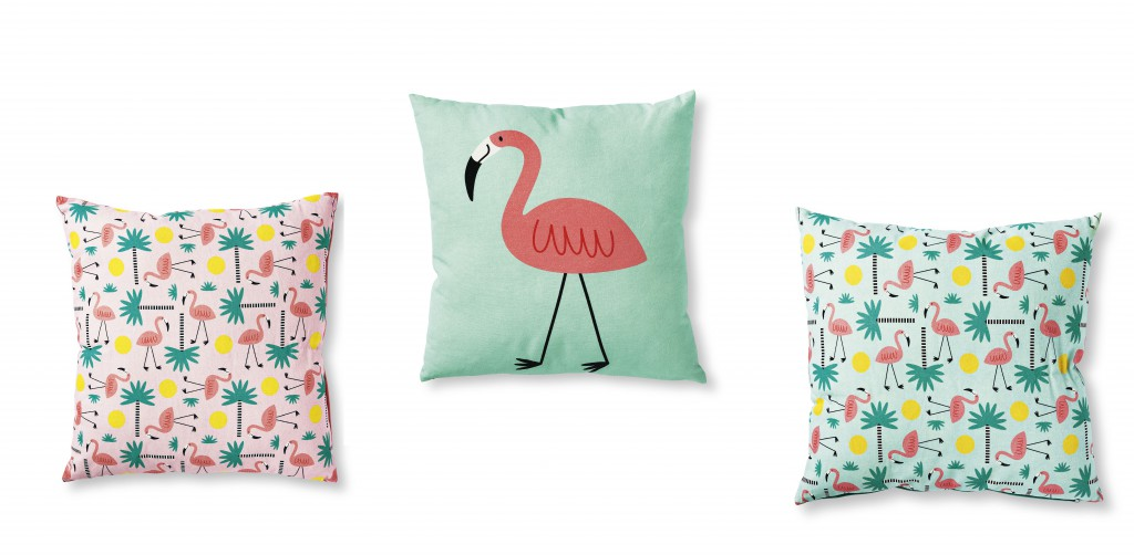 Tiger, Danish Design, Kissen, Flamingo, Sommer