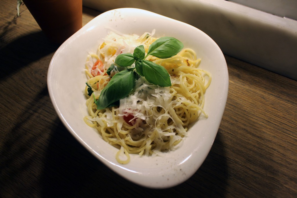 Pasta Pomodoro Fresco e Basilico, Vapiano, Specials, Juli, August, 2016