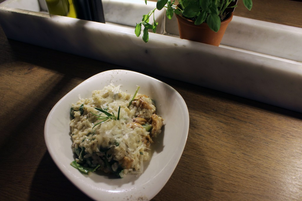 Risotto Pfifferlinge, Vapiano, Specials, Juli, August, 2016