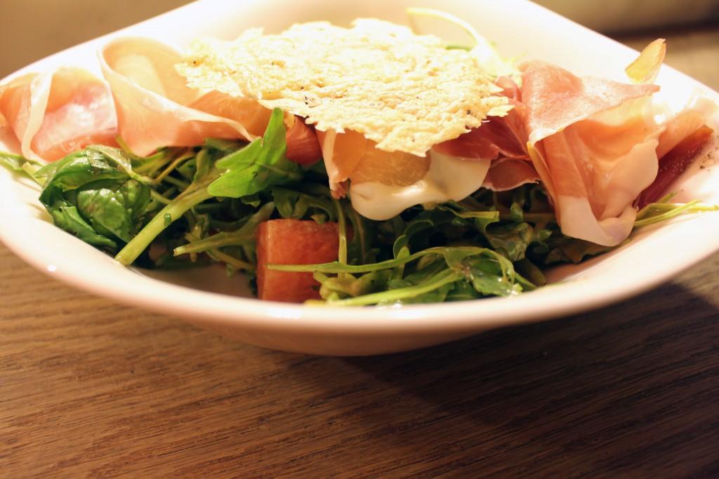 Insalata Melone con Prosciutto, Vapiano, Specials, Juli, August, 2016, Salat, Melone, Schinken, Sommersalat