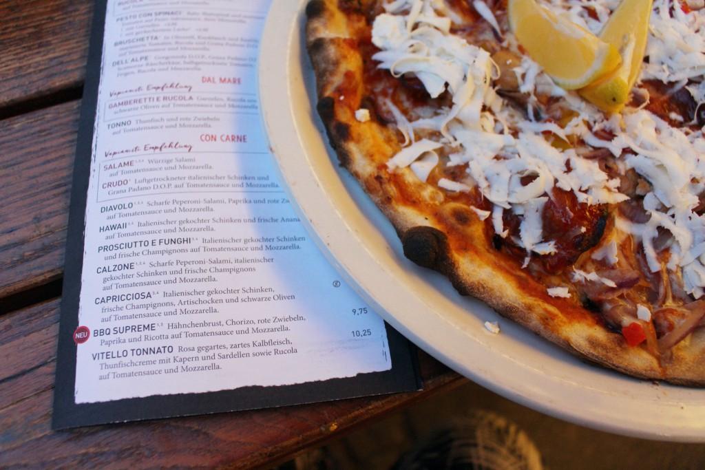 BBQ Supreme, Pizza, Vapiano, Speisekarte, 201, Barbecue, Pizza