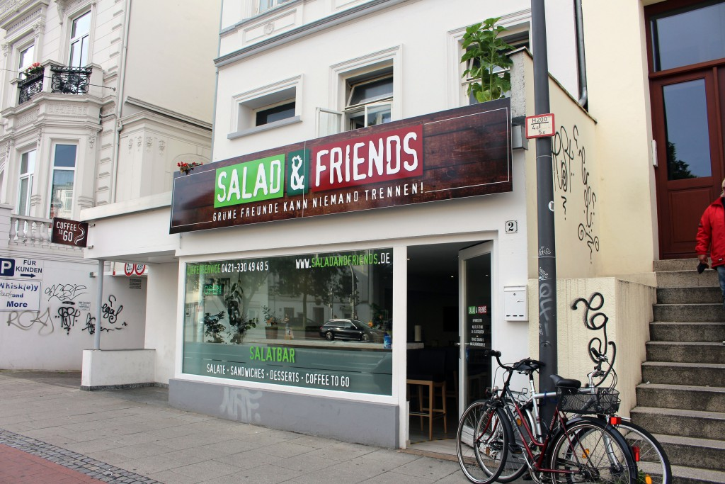 Salad and Friends, Bremen, Salatbar, Salat, Am Dobben, Lieferservice,