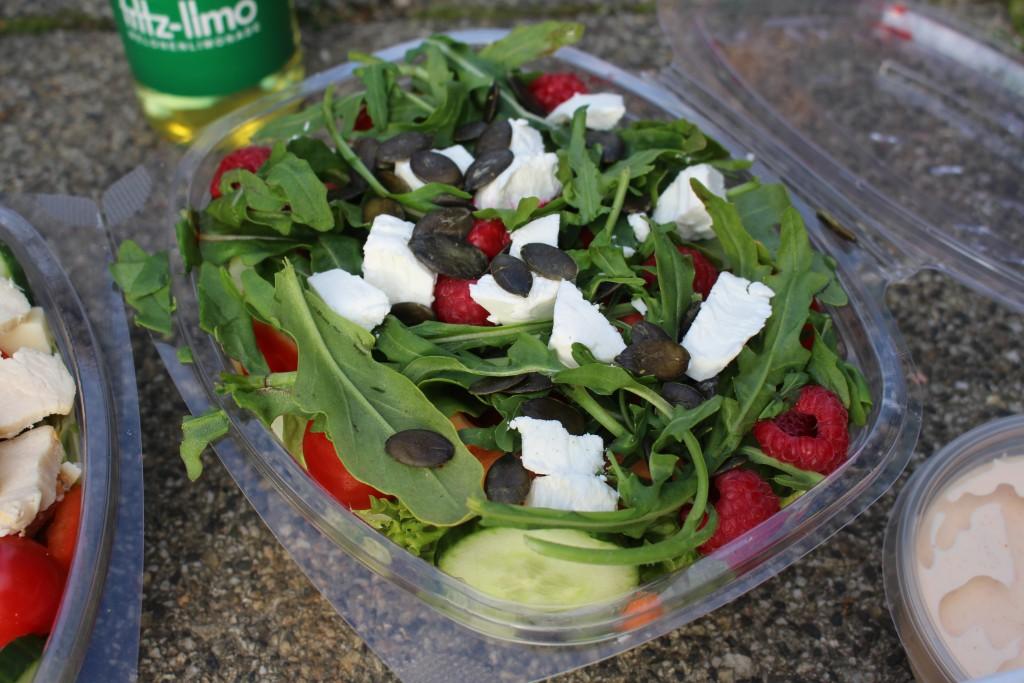 Raspberry Cheese, Salat, Salad and Friends, Bremen, Salatbar, Salat, Lieferservice,