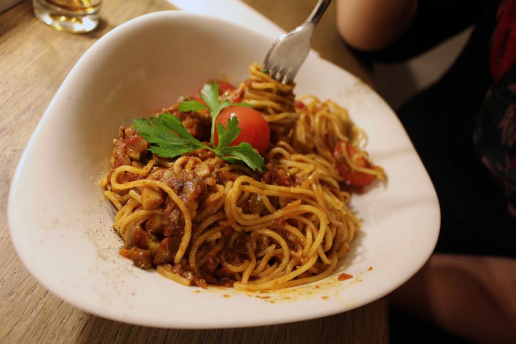 Pasta Funghi Bolognese, Vapiano, Specials, September, Oktober, 2016, Vapianospecials