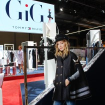 Bread and Butter, 2016, Modemesse, Berlin, Tommy Hilfiger, Gigi Hadid, Tommy x Gigi, Gigi, Cape