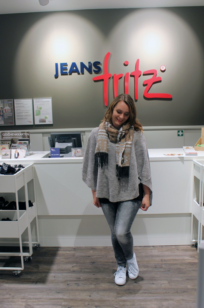 Autumn Look, Jeans Fritz, Styling Day, Weserpark, Bremen, Schal, Cape, Grey