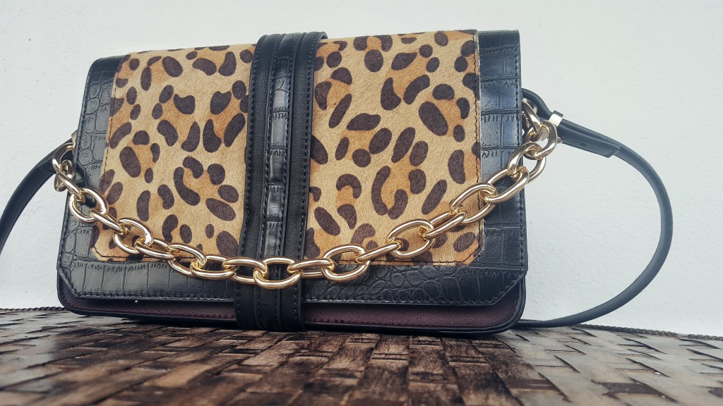 Tasche, Bag, Limited Edition, Herbst, Primark, Leo, Gold, Print, Materialmix, Outfit, Accessoires