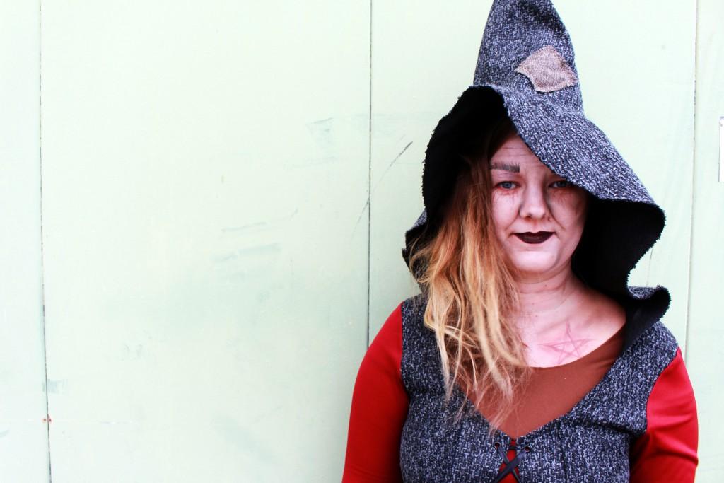 Halloween, Verkleidung, Kostüm, Kostüme.com, Hexe, Fetzen Hexe Ursula, Tag der Toten, Mexiko, Dia de los Muertos, Totenmaske, Halloween Makeup, Sugar Skull