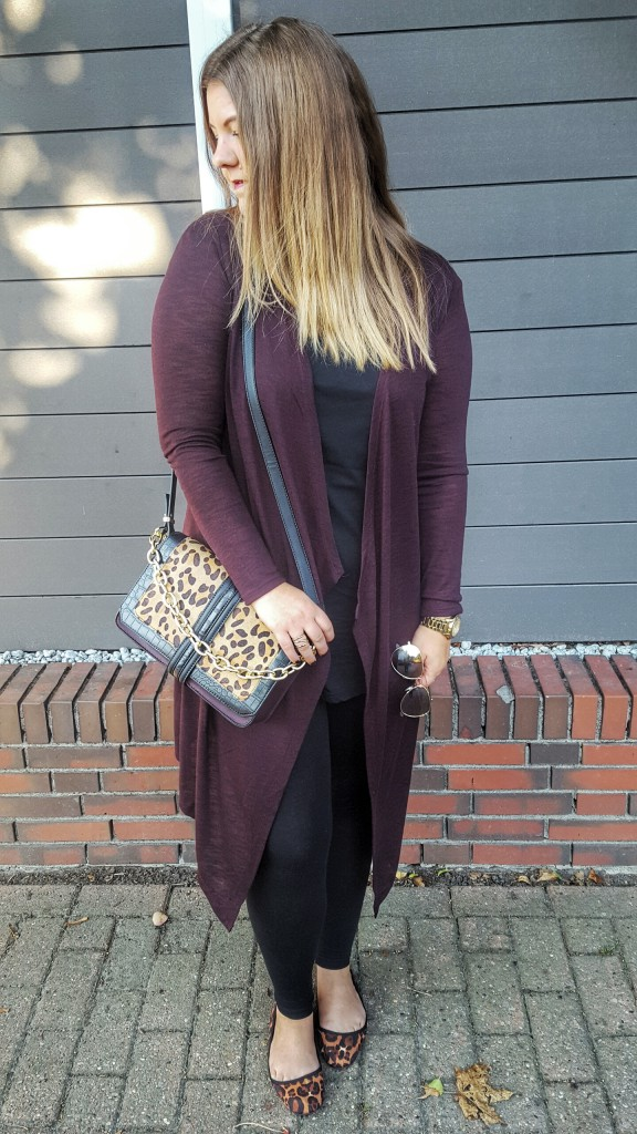 Tasche, Bag, Limited Edition, Herbst, Primark, Leo, Gold, Print, Materialmix, Outfit, Cardigan, Longshirt, Ballerinas, Accessoires