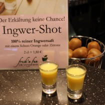 fresh n' fun, Vitaminbar, Smoothies, Bremen, Weserpark, Ingwer-Shot, gesund, Bar, Superfood, Ingwer, Ginger-fireball
