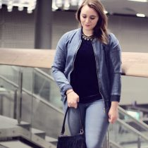 Denim, Bomber, Bomberjacke, Bomber Jacket, Jeans, Pull&Bear, Denim all over