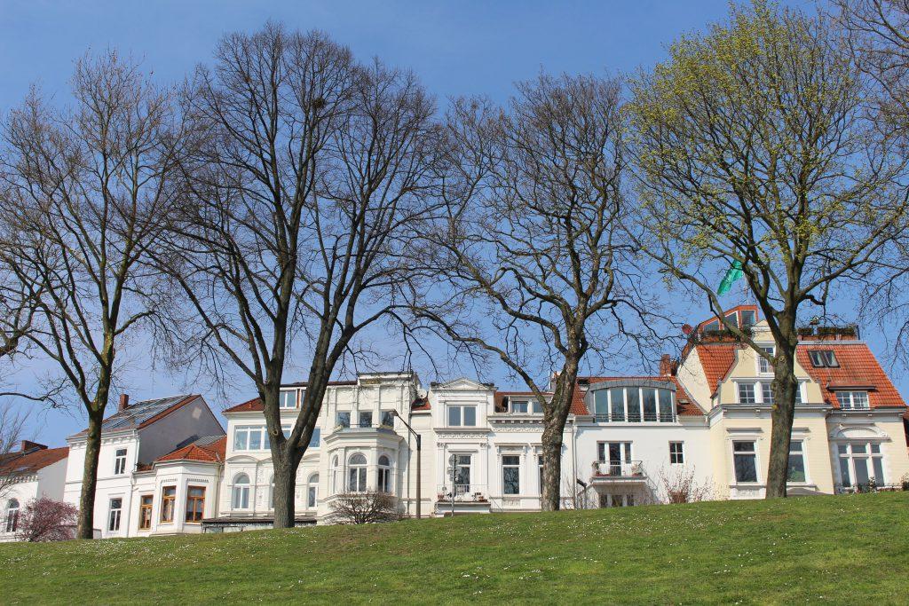 Osterdeich, Bremen, Sommer
