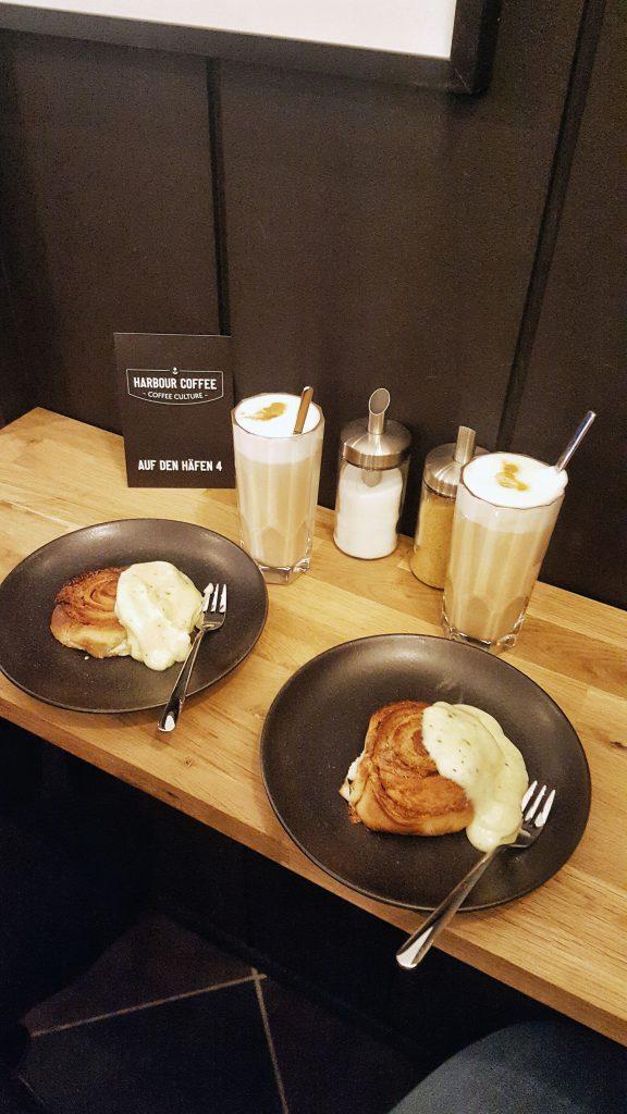 Harbour Coffee, Bremen, Auf den Häfen, Viertel, Kaffee, Café, Zimtschnecken, Latte Macchiato