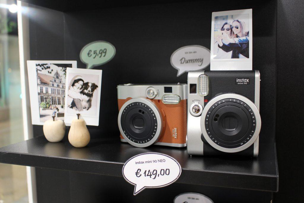 FOBI X, Bilderwerkstatt, Fujifilm, Instax, Sofortbild, Kamera, Shop, citylab, Bremen, Instax Mini 90