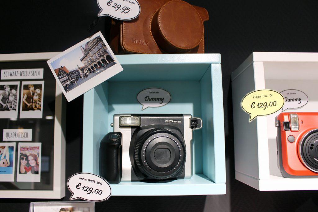 FOBI X, Bilderwerkstatt, Fujifilm, Instax, Sofortbild, Kamera, Shop, citylab, Bremen, Instax Wide 300
