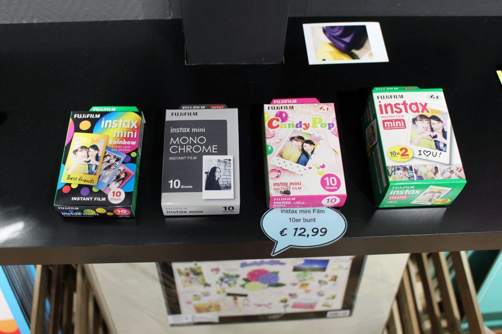 FOBI X, Bilderwerkstatt, Fujifilm, Instax, Sofortbild, Kamera, Shop, citylab, Bremen, Instax Mini