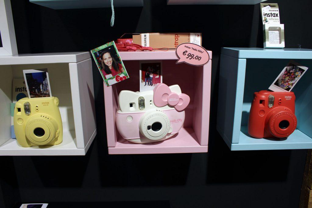 FOBI X, Bilderwerkstatt, Fujifilm, Instax, Sofortbild, Kamera, Shop, citylab, Bremen, Instax Mini 8, Hello Kitty