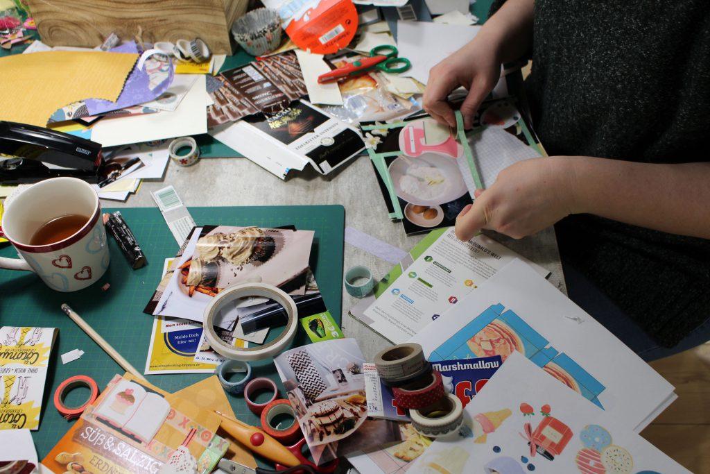 Scrapbook, FOBI-X, Scrapbooking, Bremen, Bilderwerkstatt, Basteln, Washi-Tape, kreativ