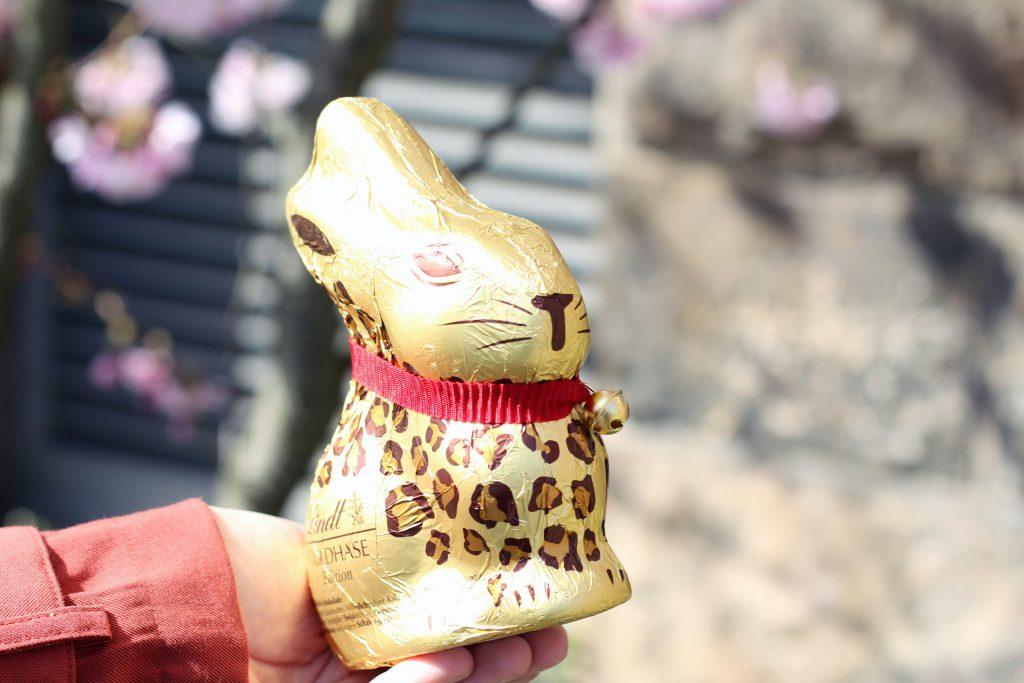 Leoprint, Animalprint, Tiger, Lindt, Goldhasen, Ostern, Food, Schokolade, Fashion, Frühling