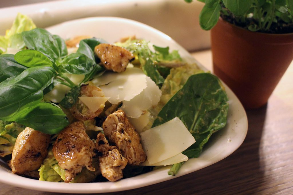 Vapiano, Specials, Meet the Stars, best of, 15 Jahre, Bremen, Salat, Insalata Pollo