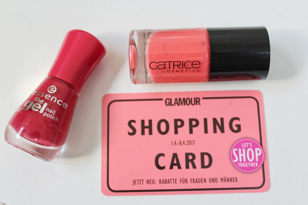 Glamour Shopping Card, Nagellack, Catrice, Essence, Rossmann