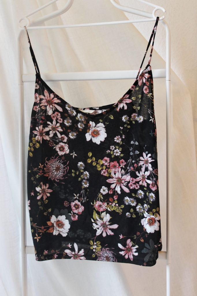 h&m, Glamour Shopping Week, Top, Sommer, Blumen, flowerprint