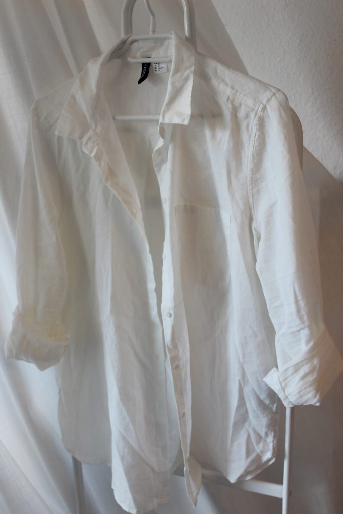 h&m, Glamour Shopping Week, white, Bluse, Hemd, Oversized