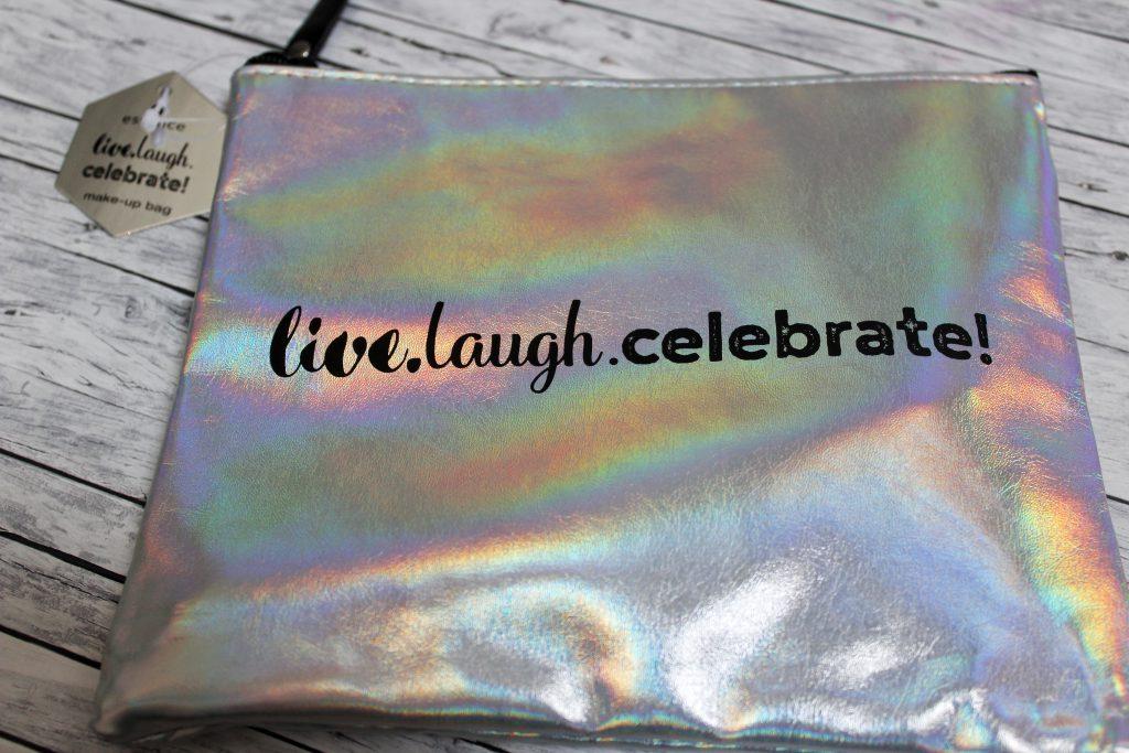 Essence, birthday, trend edition, live.laugh.celebrate!, Make up, Kosmetik, Kosmetiktasche