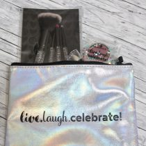 Essence, birthday, trend edition, live.laugh.celebrate!, Make up, Kosmetik, Kosmetiktasche