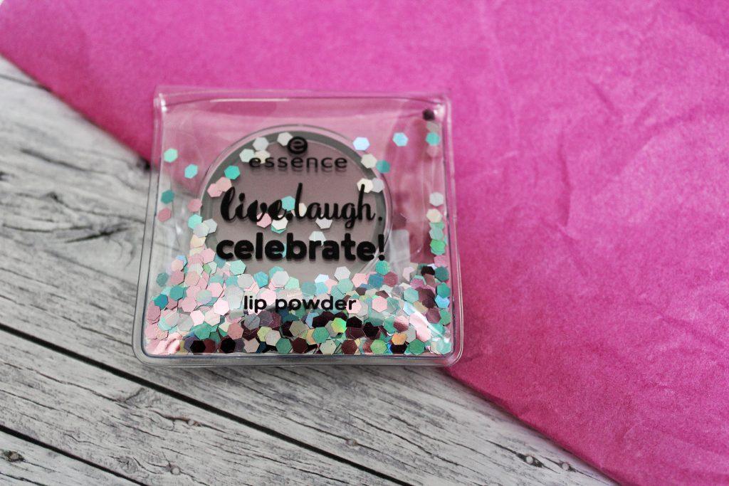 Essence, birthday, trend edition, live.laugh.celebrate!, Make up, Kosmetik, lip powder