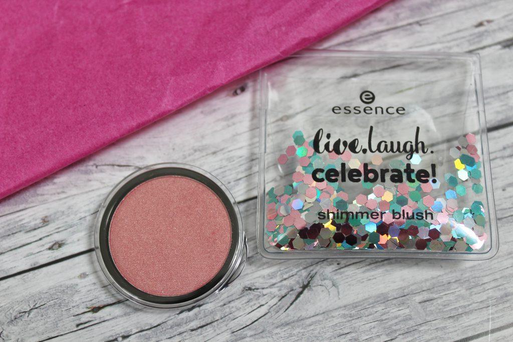 Essence, birthday, trend edition, live.laugh.celebrate!, Make up, Kosmetik, blush