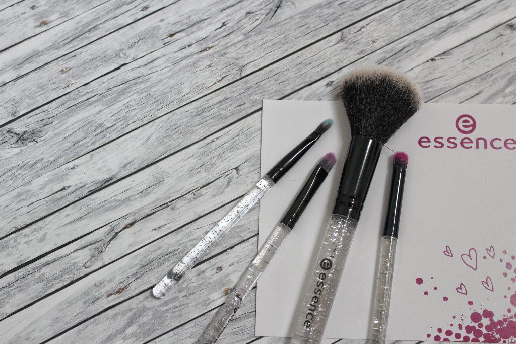 Essence, birthday, trend edition, live.laugh.celebrate!, Make up, Kosmetik, brush set, Reisegröße