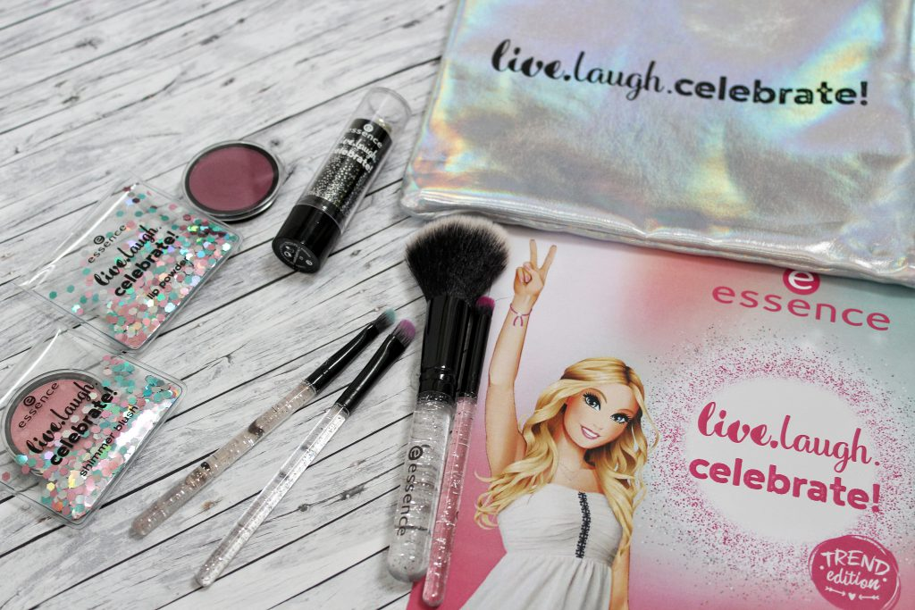 Essence, birthday, trend edition, live.laugh.celebrate!, Make up, Kosmetik
