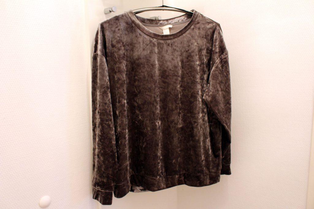 H&M, Samt, Pullover, Sale