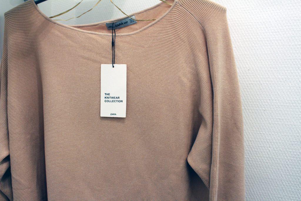 Zara, Strickpulli, Rosa, Knitwear, Strick, Schleife