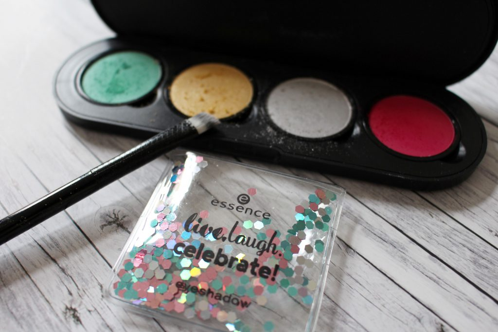 essence, Birthday, Trend edition, live laugh celebrate, Eyeshadow, Palette,