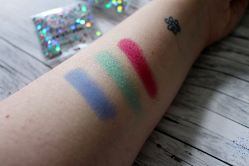 essence, Birthday, Trend edition, live laugh celebrate, Eyeshadow, Palette, Swatch, vitamin sea, i'm the lucky one, girls just wanna have fun