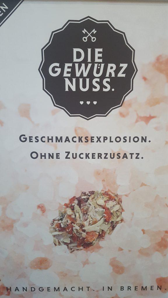 Gewürznuss, Manufaktur, Bremen, Nüsse, Snack, Food, Vegan