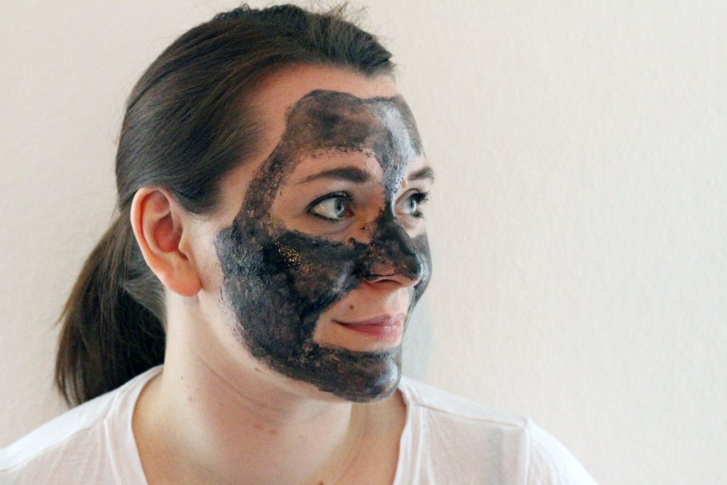 Balea, Dm, Black Mask, Anti Pickel Peel-Off Maske, Blackhead Mask