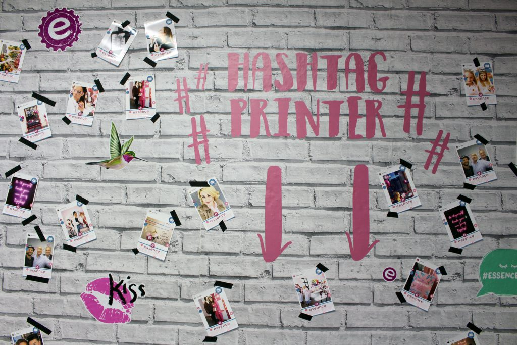 essence, Berlin, Maker Shop, Popup Store, Hashtag Printer