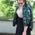 Summer, Look, Outfit, Reserved, Rock, H&M, Bomber