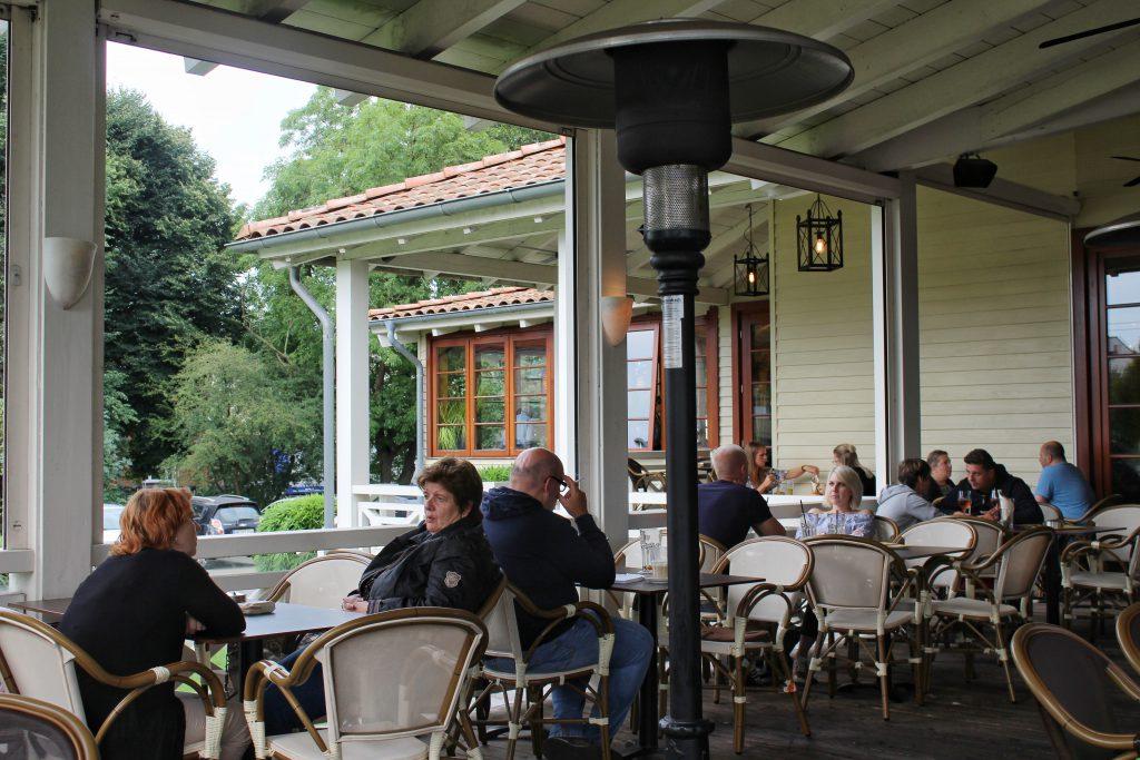Kolonialstil Restaurant Cafe Del Sol