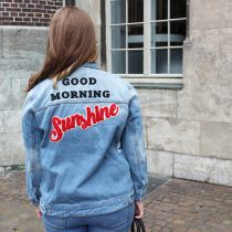 Jeansjacke, Sommer, Herbst, Denim, Sunshine, Statement, Quotes, Pimkie, Fashion, Outfit