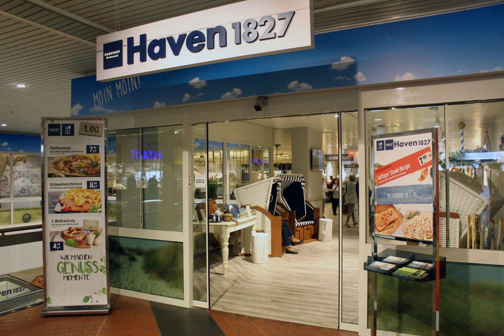 Haven 1827, Bremerhaven, Karstadt, Columbus Center, Le Buffet