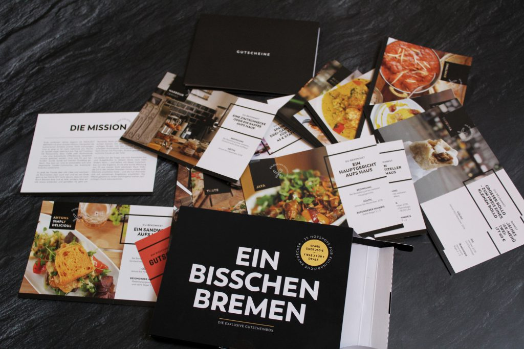 Mahlzeit Bremen, ein bisschen Bremen, Gutscheinbox, Hotspots, Food, Restaurants, Bremen, Gastro