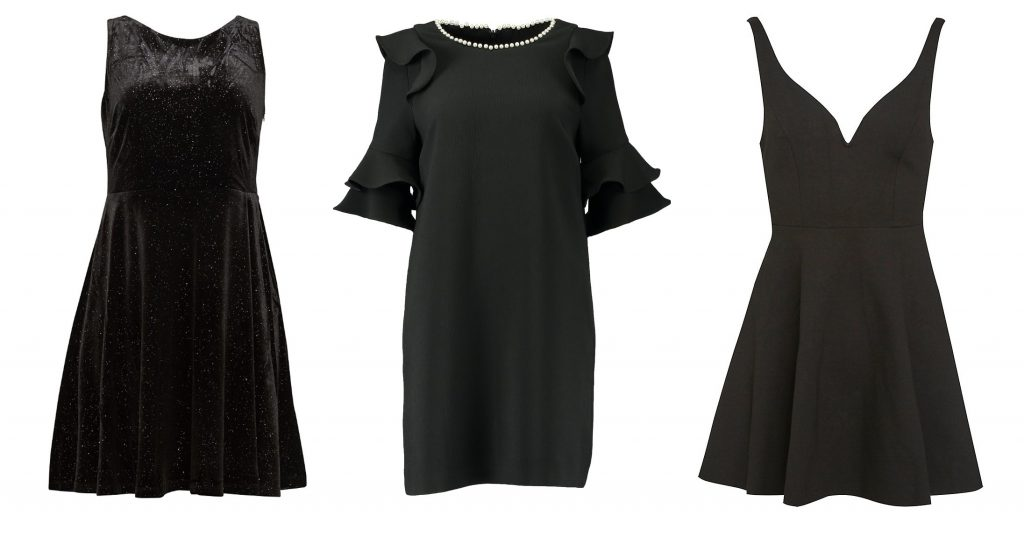 Black Dresses_Esprit_River Island_Urban Outfitters