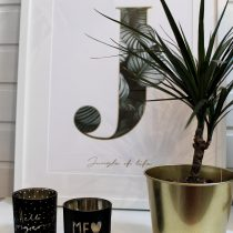 Interior, Picture, Jo&Judy, Gold, Dekoration, Trend, H&M, Ikea